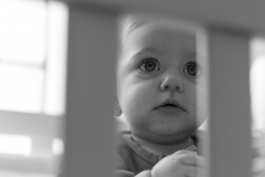 Fotografía bebe cuna